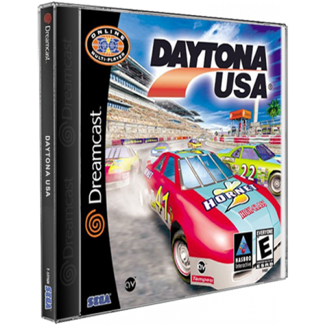 Daytona USA Tangram DreamCast CD Rom